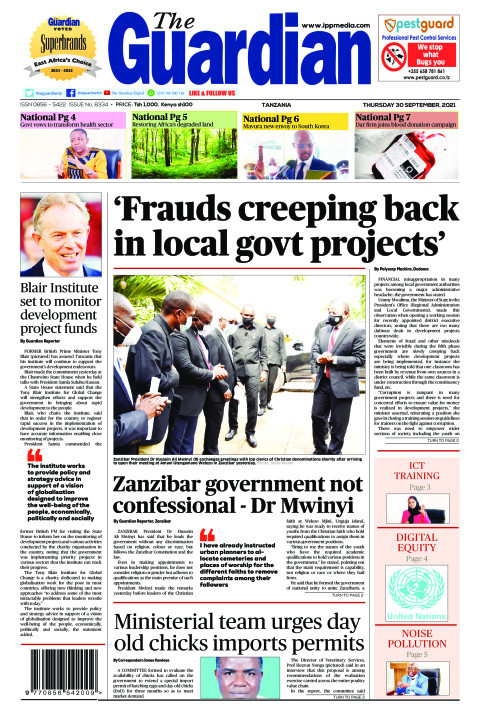 'Frauds creeping back in local govt projects' | The Guardian