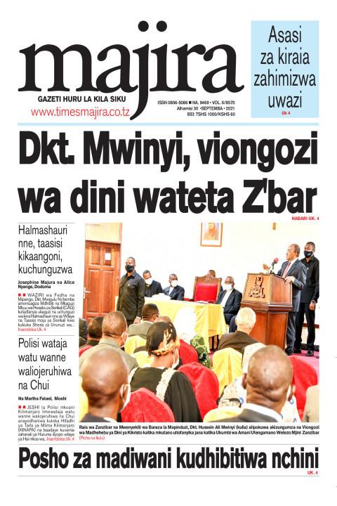 Dkt Mwinyi, viongozi wa dini wateta Z'bar | MAJIRA
