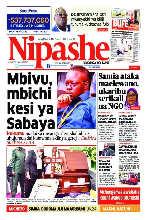 Mbivu, mbichi kesi ya Sabaya | Nipashe