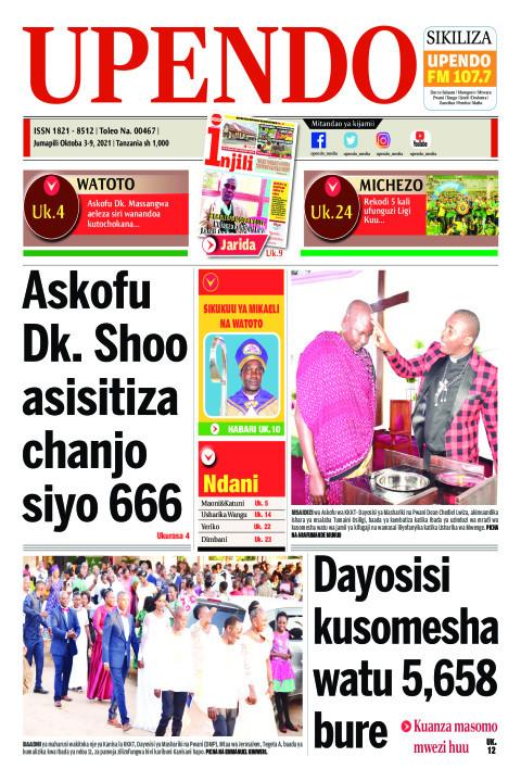 Askofu Dk. Shoo asisitiza chanjo siyo 666 | Upendo