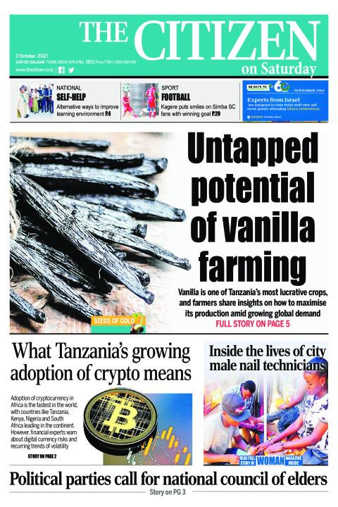 UNTAPED POTENTIAL OF VANILLA FARMING  | The Citizen