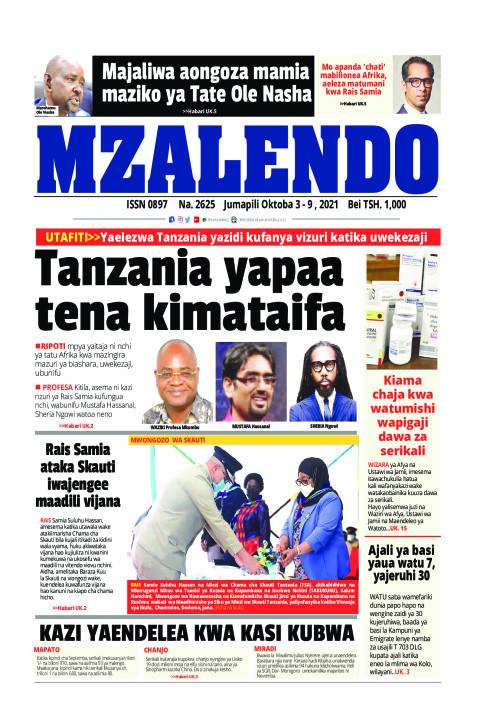 Tanzania yapaa tena kimataifa | Mzalendo