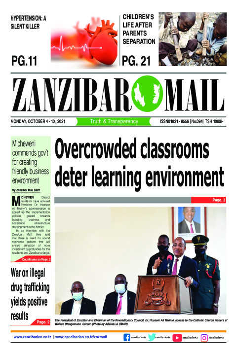 Overcrowded classrooms deter learning environment | ZANZIBAR MAIL