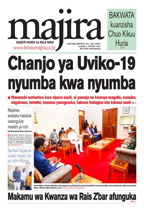Chanjo ya UVIKO-19 nyumba kwa nyumba | MAJIRA