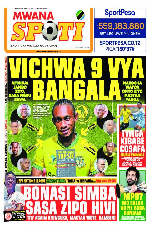 VIWANJA 9 VYA BANGALA VYA BANGALA,BONASI SIMBA SASA ZIPO  | Mwanaspoti