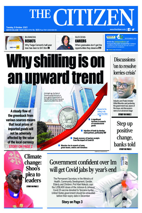 WHY SHILLING IS ON AN UPWARD TREND  | The Citizen