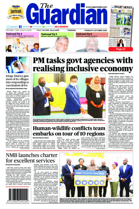 PM tasks govt agencies with realising inclusive economy | The Guardian
