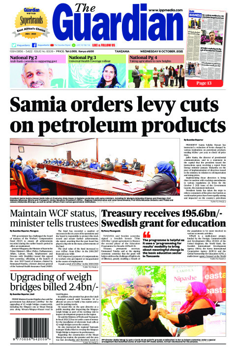 Samia orders levy cuts on petroleum products  | The Guardian
