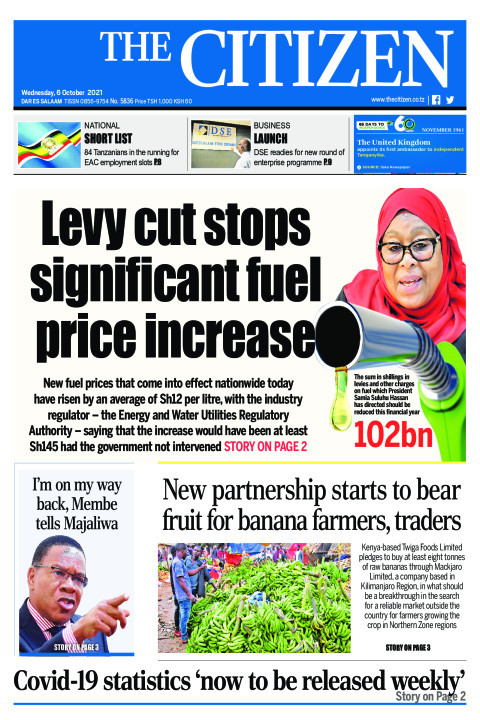 LEVY CUT STOPS SIGNIFICANT FUEL PRICE INCREASE  | The Citizen