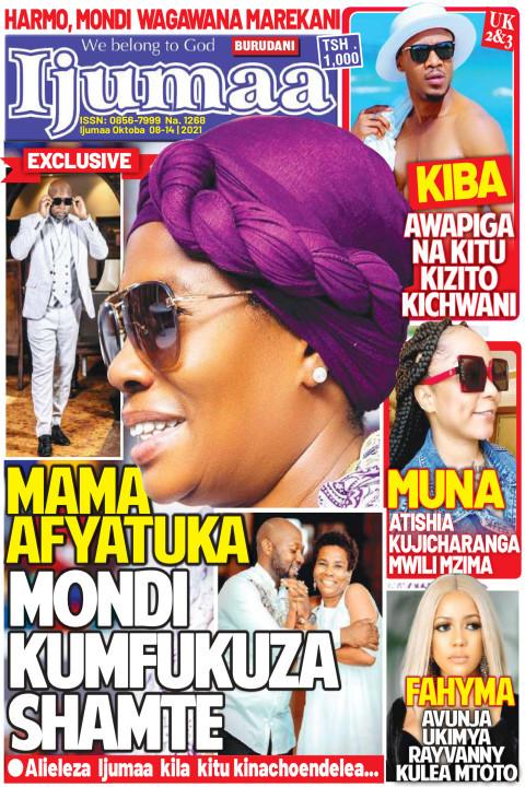MAMA AFYATUKA MONDI KUMFUKUZA SHAMTE | Ijumaa Ijumaa