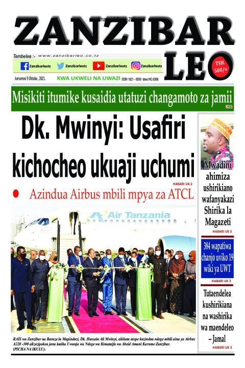 Dk. Mwinyi: Usafiri kichocheo ukuaji uchum | ZANZIBAR LEO