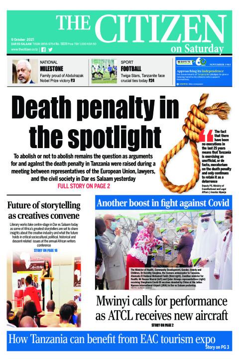 DEATH PENALTY IN SPOTLIGHT  | The Citizen