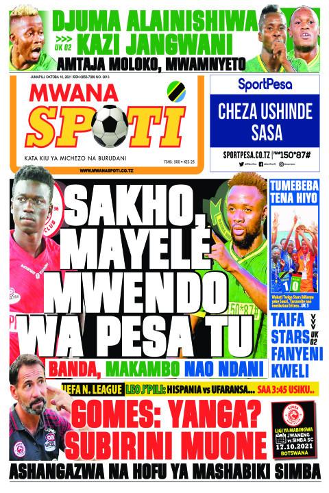SANKO MAYELE MWENDO WA PESA TU   | Mwanaspoti