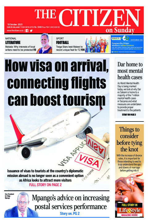 HOW VISA ON ARRIVAL,CONNECTING FLIGHTS CAN BOOST TOURISM  | The Citizen