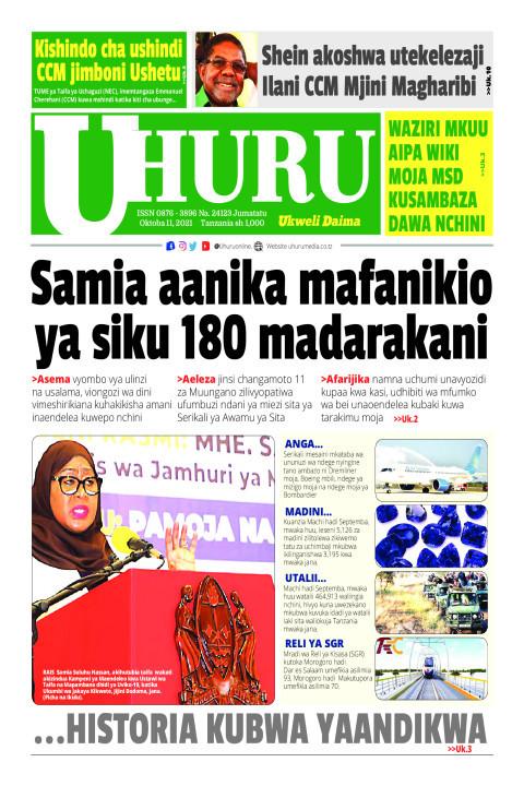 Samia aanika mafanikio ya siku 180 madarakani | Uhuru