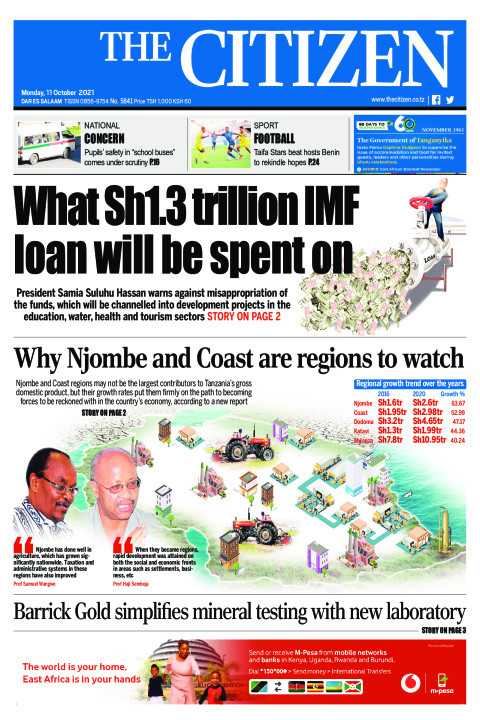 WHAT SH1.3TRILLION IMF LOAN WILL BE SPENT ON  | The Citizen