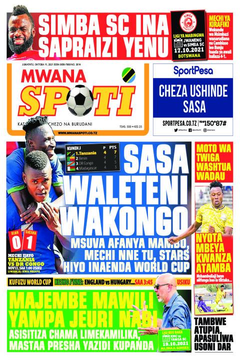 SASA WALETENI WAKONGO,MAJEMBE MAWILI YAMPA JEURI NABI  | Mwanaspoti
