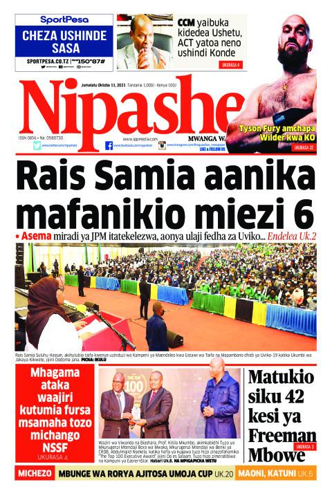 Rais Samia aanika mafanikio miezi 6 | Nipashe
