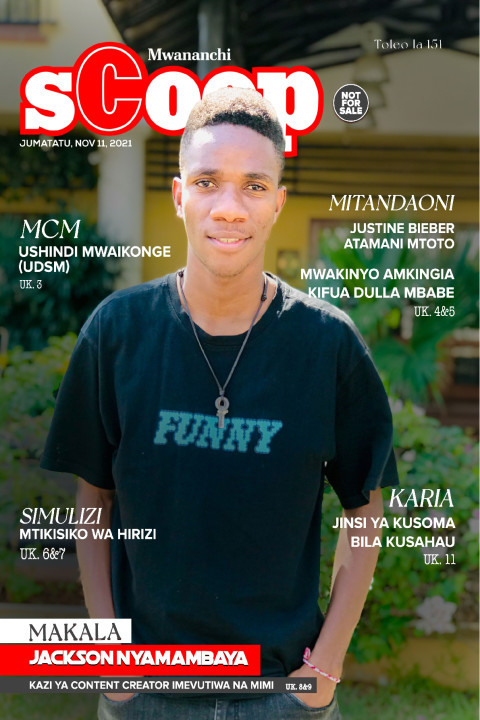 MAKALA: Jackson Nyamambaya  | Mwananchi Scoop