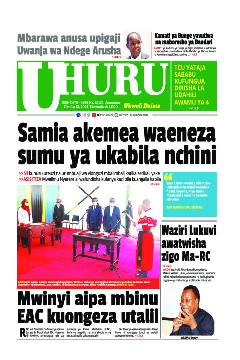 Samia akemea waeneza sumu ya ukabila nchini | Uhuru
