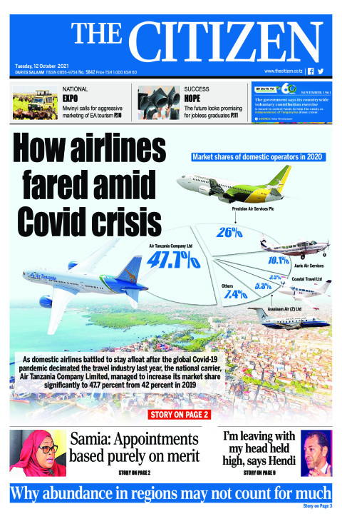 HOW AIRLINES FARED AMID COVID CRISIS  | The Citizen