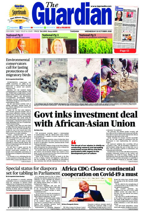 Govt inks investment deal with African-Asian Union | The Guardian