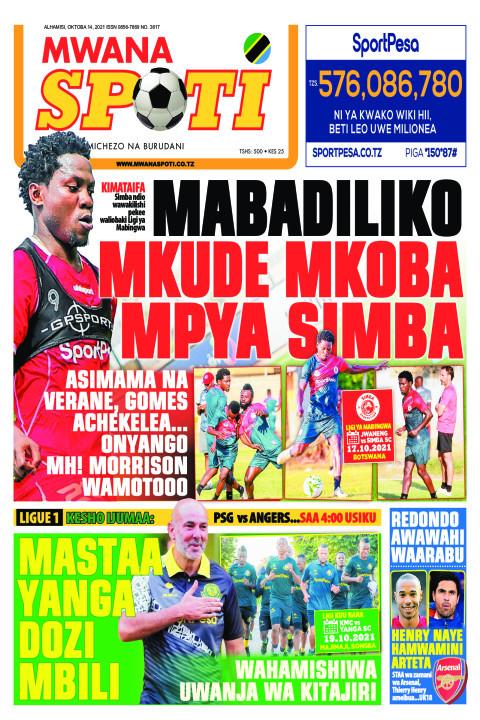 MABADILIKO MKUDE MKOBA MPYA SIMBA  | Mwanaspoti