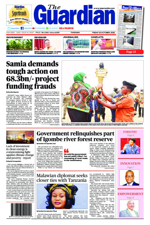 Samia demands tough action on 68.3bn/- project funding fraud | The Guardian