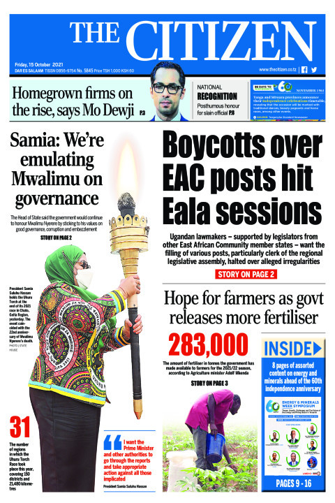 BOYCOTTS OVER EAC POSTS HIT EALA SESSIONS  | The Citizen