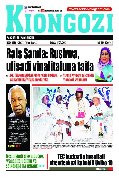 Rais Samia: Rushwa, ufisadi vinalitafuna taifa | Kiongozi