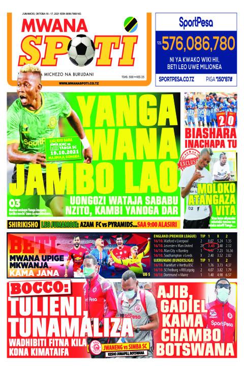 YANGA WANA JAMBO LAO  | Mwanaspoti
