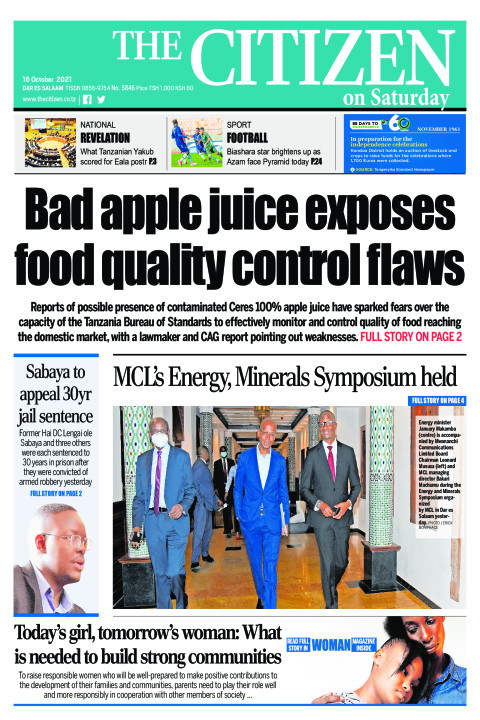 BAD APPLE JUICE EXPOSES FOOD QUALITY CONTROL FLAWS  | The Citizen